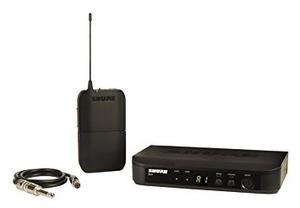 Guitar System Shure Wa302 Blx14 Inalámbrico Con Cable De L