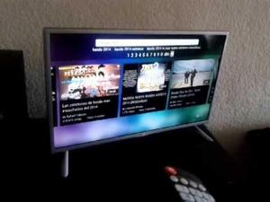 Smart tv lg 32 pulgadas bien cuidado uso normal wifi