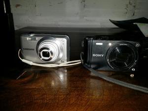 Camara Samsung Es65 Y Sony Wx350