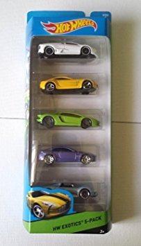 Coleccionable Hot Wheels,  Hw, Hw Taller Exóticos 5-pac