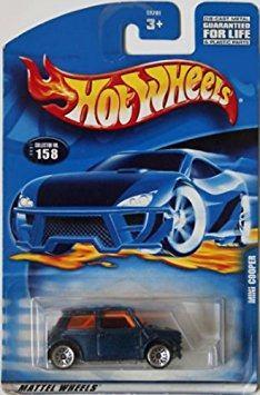 Coleccionable Mattel Hot Wheels:64 Scale Blue Mini Cooper