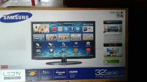 Televisor Marca Samsung Smart Tv de 32 Pulgadas con Su Caja