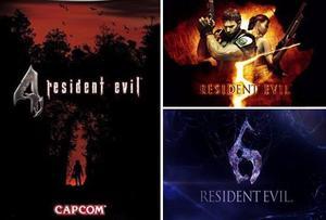 Combo Resident Evil 4/5/6 Hd Steam Digital