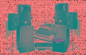 alquiler de sonido profesional - Bucaramanga