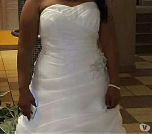 vendo hermoso vestido de novia exportado