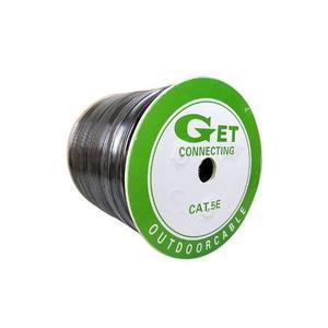 Carrete De Cable Utp Cat5e Cobre Certificado Marca Get 305m