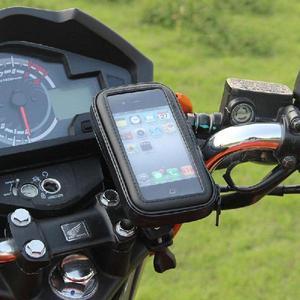 Estuche Soporte Celular/gps Para moto/Bicicleta Impermeable