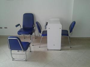 Juego de muebles para manicure y pedicure posot class for Sillas para hacer pedicure