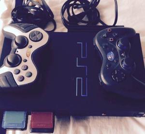 Vendo Play Station 2 Con Controles Y Juegos Originales$265