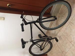 fixie bicicleta fixie negra excelente estado como nueva