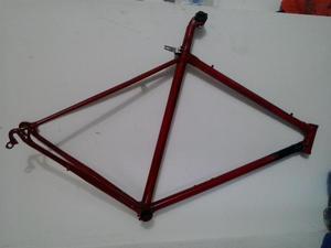 marco bicicleta ruta fixie soldado