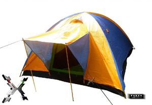 Carpa Camping Tipo Iglu Dome Para 5 Personas con Sobre carpa