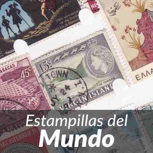 Colección  Estampillas Antiguas De Todo El Mundo