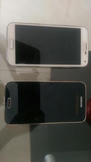 Dos Samsung S5 para Repuestos
