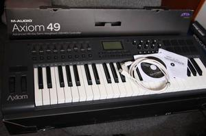 Vendo Controlador Midi M-audio Axiom 49 En Perfecto Estado