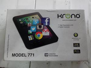 Vendo Tablet Krono 7 pulgadas doble camara wifi