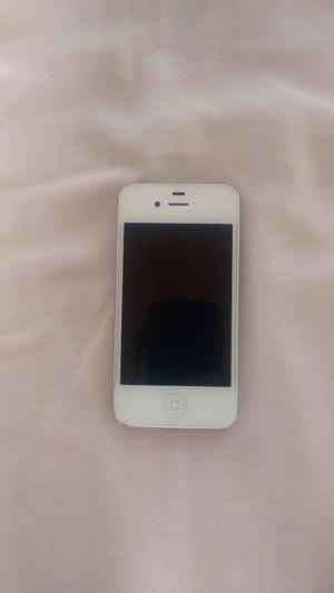 iPhone 4s Blanco 8g