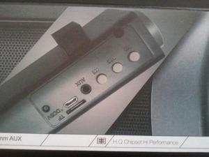 Barra Parlante Recargable Bluetooth 10 W