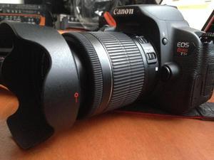 Camara Canon Rebel T5i Con Lente mm Y Accesorios