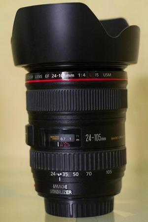 Lente Canon mm F/4l Linea Roja