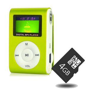 !!Super Combo¡¡ MP3 Digital Multimedia Player Verde