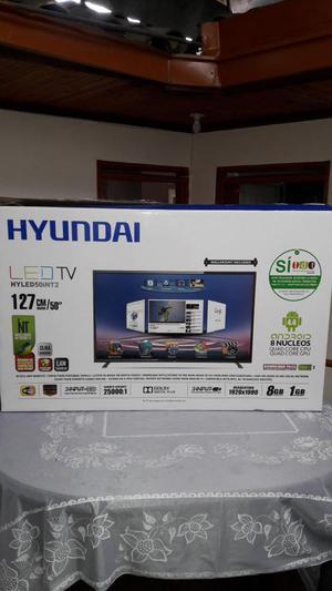 Televisor Hyundai Smart Tv De 50 Pulgadas Gangazo