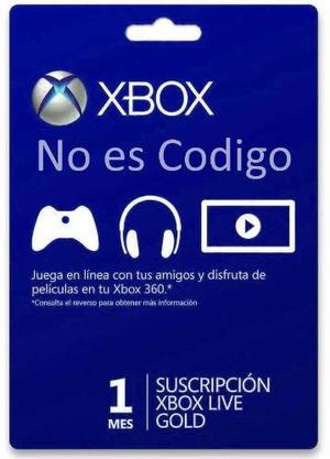 1 Mes Xbox Live (leer)