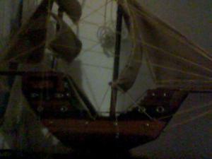 Barco de madera - Cúcuta