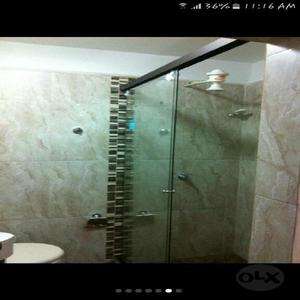 cabina de bao vidrio templado medelln