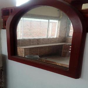 Espejo con Marco en Madera - Cali