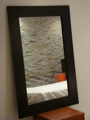 Espejo de Sala Wengue - Barranquilla