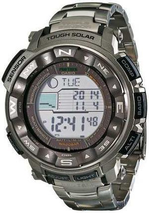 Hombre Casio Prw T-7cr Pro Trek Tough Solar Digital Reloj