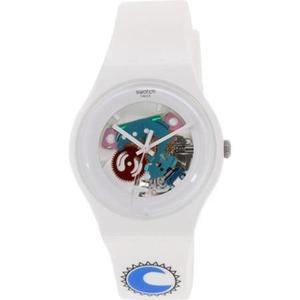 Reloj Blanco Swatch Para Mujeres Suow100d