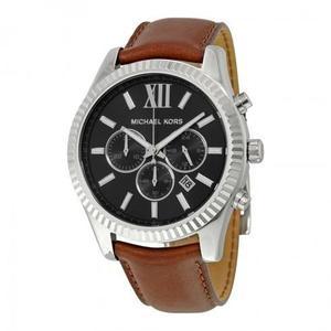 Reloj Michael Kors Mk Cuero Marrón Hombre