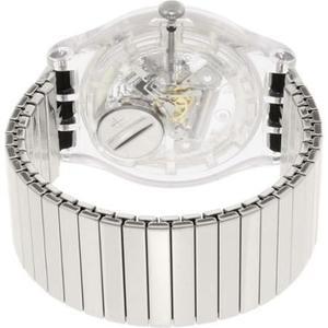 Reloj Plata Swatch Para Hombres Suok105fb
