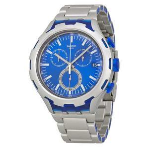 Reloj Swatch Yysag Metal Plateado Hombre