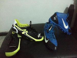 Sensacionales Guayos Marca Mitre Y Nike talla 42 - Cali
