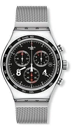 \ironía Blackie 'de Acero Inoxidable Reloj De Cuarzo Ocasi