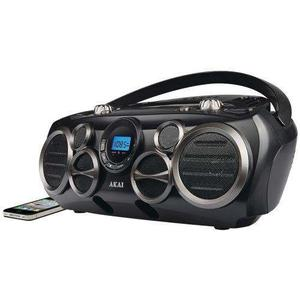 Akai Bluetooth Cd Boombox Am / Fm Digital Leída Con 6