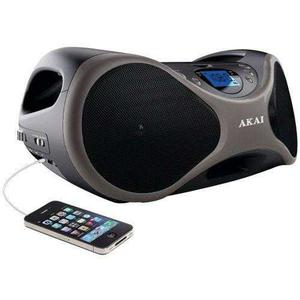 Akai Cd Boombox Am Leer Fm Digital Con 6 Bocinas