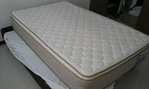 Colchon El Dorado 120X190 y base cama