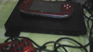 Se Cambia Psp Y Ps2 Con Juegos Mas Mando Gamepad Para Pc,