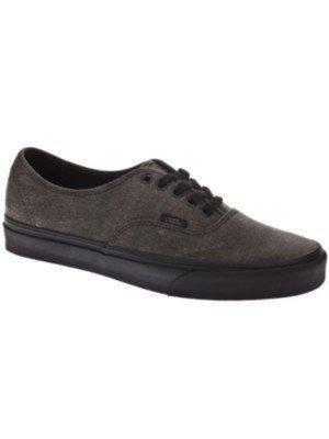 Auténtico Slim Skate Vans Unisex Zapato-negro/negro-7