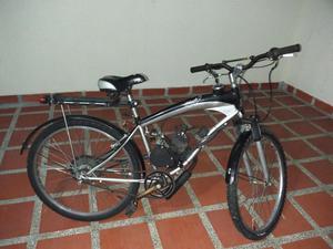 Bicicleta con motor ciclomotor