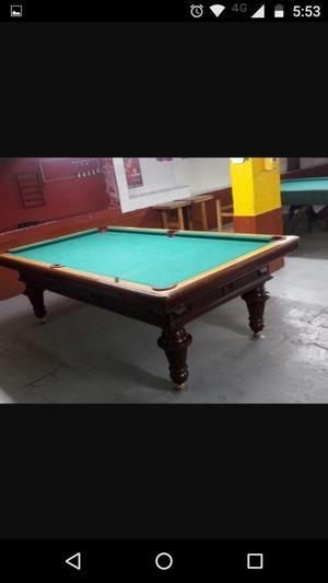 Vendo mesas de billar y pool cali posot class for Mesa billar barata