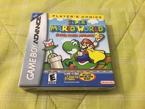 Super Mario World Como Nueva Y Completa Nintendo Gameboy Adv