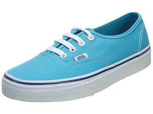 Vans Unisex Auténticos Cian Azul/true Blanco Skate Zapatos