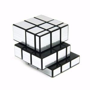 Cubo Rubik Shengshou 3x3x3 Espejo Plateado