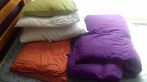 Colcha floral acolchado ropa de cama 100 posot class - Almohadas para cama ...