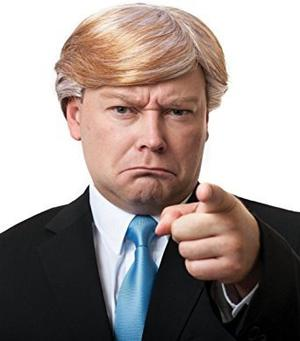 Juguete Donald Trump Wig - #1 Quality Wind-tested Replica W